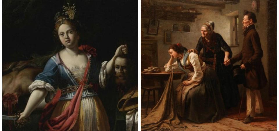 Pinturas clásicas ninguneadas por ser mujeres
