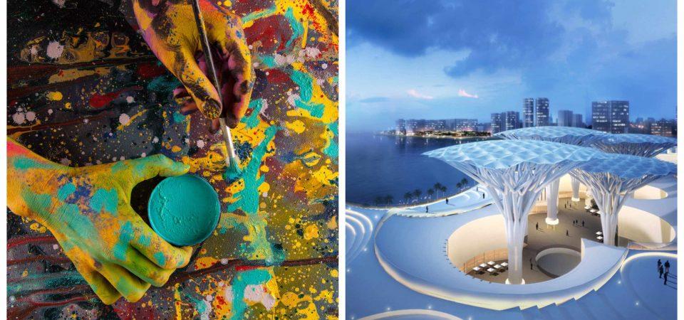 Como la arquitectura se puede considerar un arte
